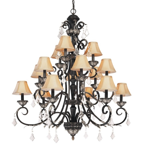 Dolan Designs Lighting Fifteen-Light Chandelier 2103-148