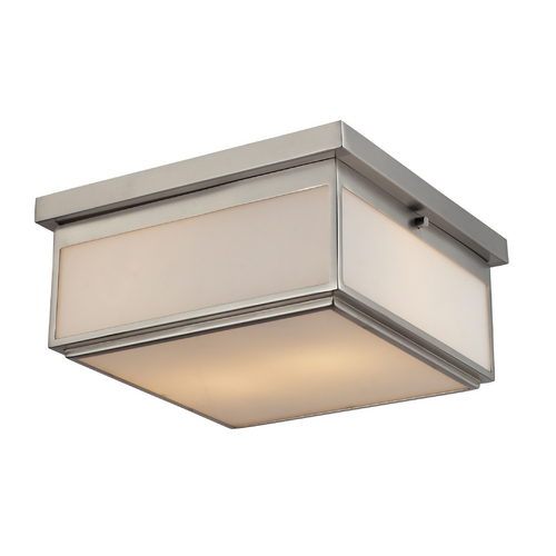Elk Lighting Modern Flushmount Light in Brushed Nickel Finish 11464/2