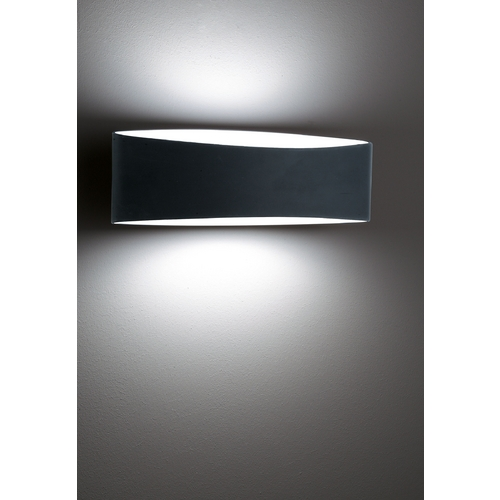 Holtkoetter Lighting Holtkoetter Modern Sconce Wall Light with Black Glass in Black Finish 8503 BK