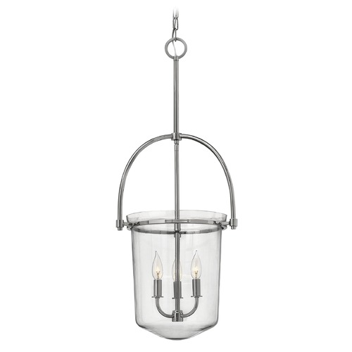 Hinkley Lighting Hinkley Lighting Clancy Polished Nickel Mini-Chandelier 3033PN