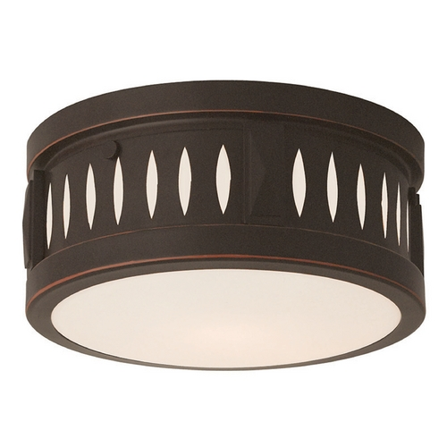Livex Lighting Livex Lighting Vista Olde Bronze Flushmount Light 65506-67