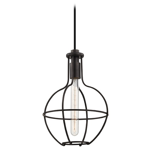 Hudson Valley Lighting Colebrook 1 Light Mini-Pendant Light - Old Bronze 1051-OB