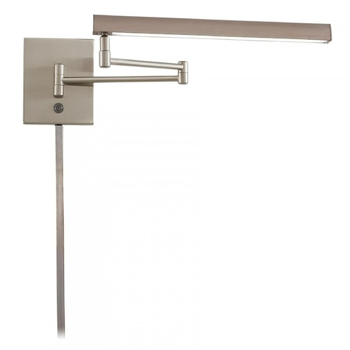 George Kovacs Lighting George Kovacs Madake Brushed Nickel LED Swing Arm Lamp P266-1-084-L
