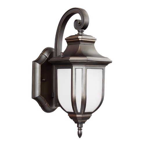Sea Gull Lighting Sea Gull Lighting Childress Antique Bronze LED Outdoor Wall Light 8536391S-71