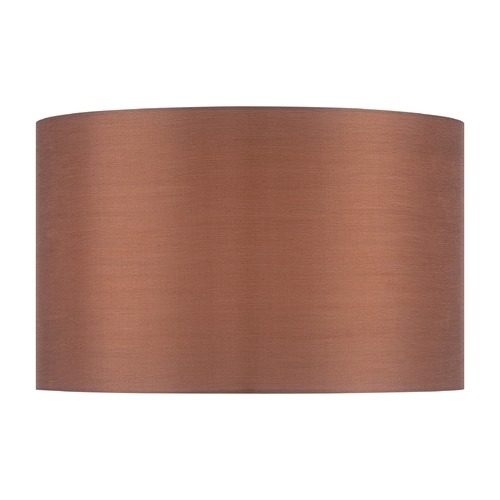 Lite Source Lighting Copper Bronze Drum Lamp Shade with Spider Assembly CH1248-18
