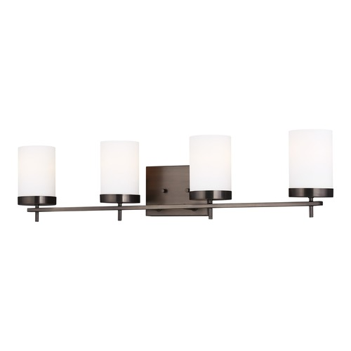 Sea Gull Lighting Sea Gull Lighting Zire Brushed Oil Rubbed Bronze Bathroom Light 4490304-778