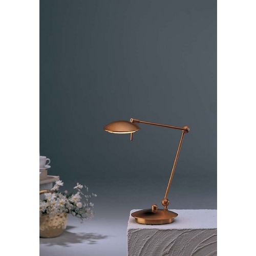 Holtkoetter Lighting Holtkoetter Modern Swing Arm Lamp in Antique Brass Finish 6238 AB