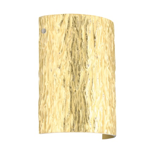 Besa Lighting Besa Lighting Tamburo Satin Nickel LED Sconce 7090GF-LED-SN