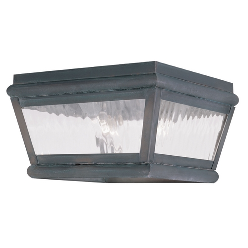 Livex Lighting Livex Lighting Exeter Charcoal Close To Ceiling Light 2611-61