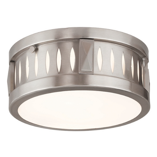 Livex Lighting Livex Lighting Vista Brushed Nickel Flushmount Light 65506-91