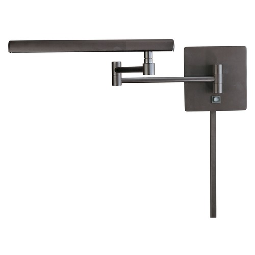 George Kovacs Lighting George Kovacs Madake Dorian Bronze LED Swing Arm Lamp P266-1-615B-L