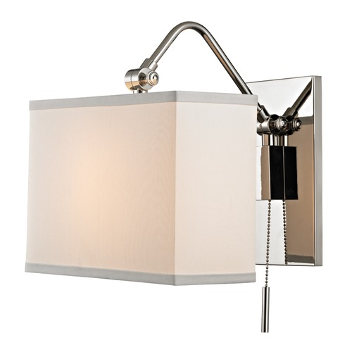 Hudson Valley Lighting Hudson Valley Lighting Leyden Polished Nickel Sconce 5421-PN