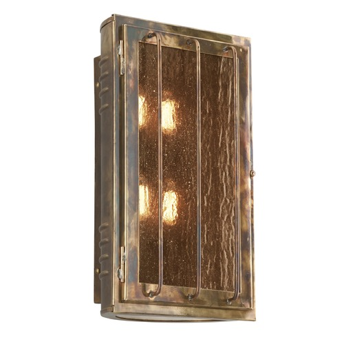Troy Lighting Troy Lighting Joplin Historic Brass Outdoor Wall Light B4683HBZ