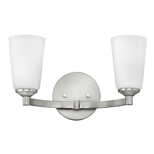 Hinkley Lighting Hinkley Lighting Sadie Brushed Nickel Bathroom Light 52232BN