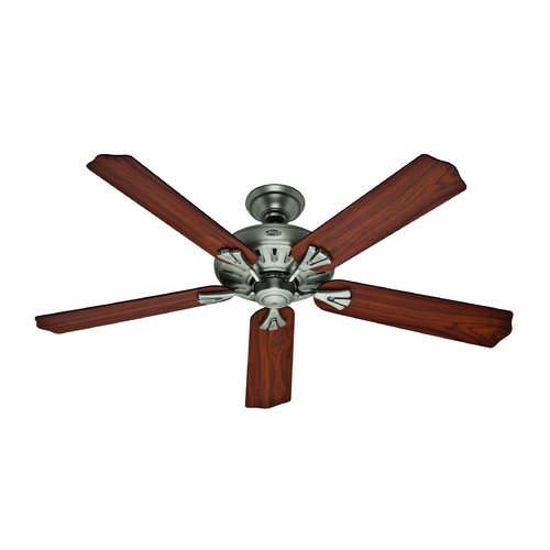 Hunter Fan Company Hunter Fan Company the Royal Oak Antique Pewter Ceiling Fan Without Light 54017