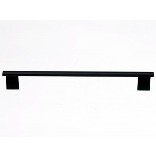 Top Knobs Hardware Modern Cabinet Pull in Flat Black Finish M1103