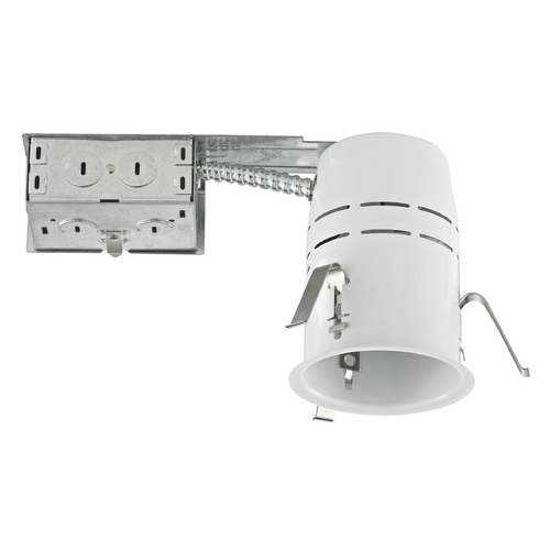 Recesso Lighting by Dolan Designs 3.5-Inch Remodel GU10 Recessed Can Light Non-IC TC350R-GU