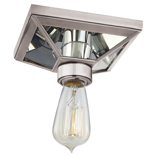 Hudson Valley Lighting Thurston 1 Light Flushmount Light - Aged Silver 5080-AS