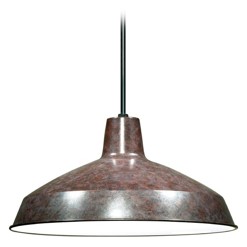 Nuvo Lighting Barn Light Pendant Bronze 16-inch Wide by Nuvo Lighting SF76/662