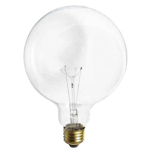 Satco Lighting Incandescent G40 Light Bulb Medium Base 120V by Satco S3014