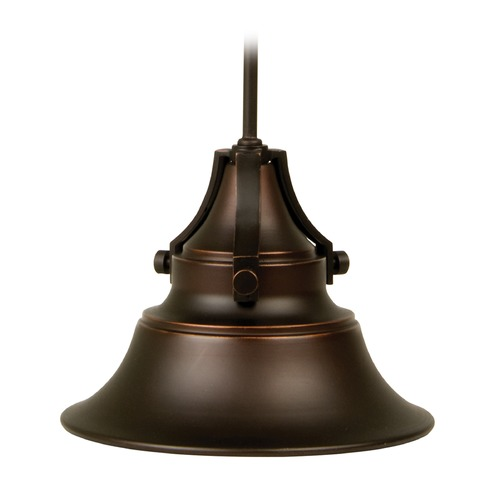 Craftmade Lighting Craftmade Lighting Union Oiled Bronze Gilded Outdoor Hanging Light Z4421-88