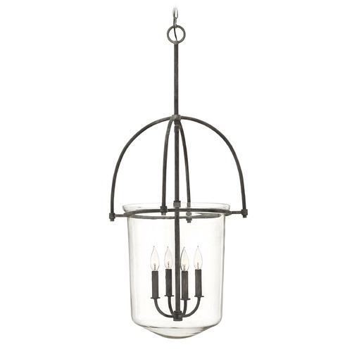 Hinkley Lighting Hinkley Lighting Clancy Aged Zinc Mini-Chandelier 3034DZ