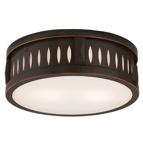 Livex Lighting Livex Lighting Vista Olde Bronze Flushmount Light 65507-67