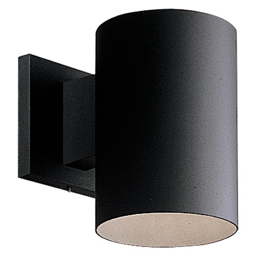 Progress Lighting Progress Lighting Cylinder Black LED Outdoor Wall Light P5674-31/30K