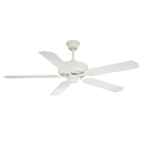 Savoy House Savoy House White Ceiling Fan Without Light 52-EOF-5W-WH