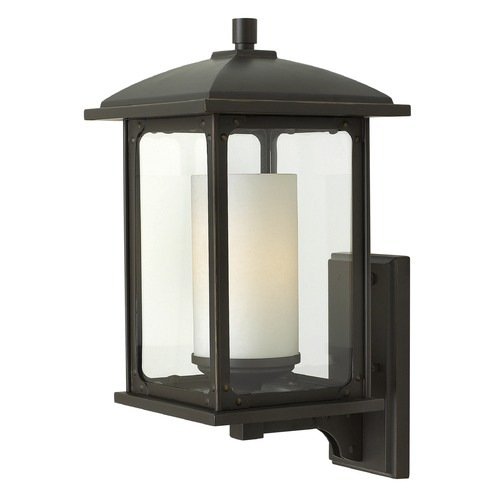 Hinkley Lighting Hinkley Lighting Stanton Oil Rubbed Bronze LED Outdoor Wall Light 2474OZ-LED