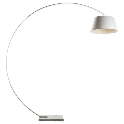 George Kovacs Lighting George Kovacs White Arc Lamp with Conical Shade P300-044
