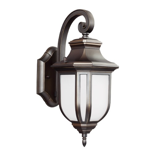 Sea Gull Lighting Sea Gull Lighting Childress Antique Bronze LED Outdoor Wall Light 8636391S-71