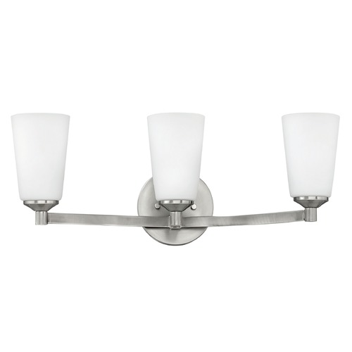 Hinkley Lighting Hinkley Lighting Sadie Brushed Nickel Bathroom Light 52233BN