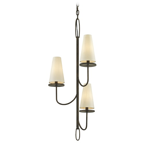 Troy Lighting Troy Lighting Marcel Pompeii Bronze Mini-Chandelier F6294