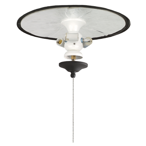 Fanimation Fans Light Kit in White Finish FW423WH