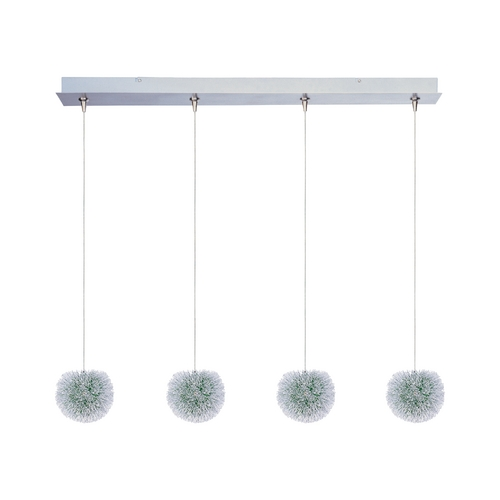 ET2 Lighting Modern Low Voltage Multi-Light Pendant Light 4-Lights E94920-94AL