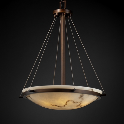 Justice Design Group Justice Design Group Lumenaria Collection Pendant Light FAL-9692-35-DBRZ