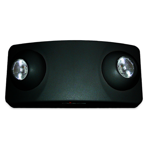 Exitronix Emergency Lighting Unit - Black Finish EXITLL50HBL