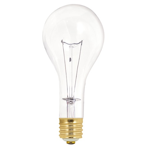 Satco Lighting Incandescent PS35 Light Bulb Mogul Base 130V Dimmable by Satco S3015