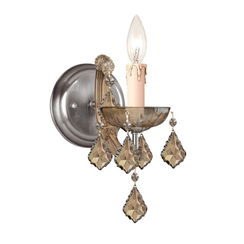 Crystorama Lighting Crystorama Lighting Maria Theresa Antique Brass Sconce 4471-AB-GT-MWP
