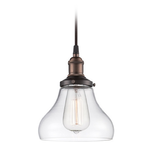 Nuvo Lighting Mini-Pendant Light with Clear Glass 60/5503