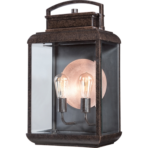 Quoizel Lighting Quoizel Byron Imperial Bronze Outdoor Wall Light BRN8412IB