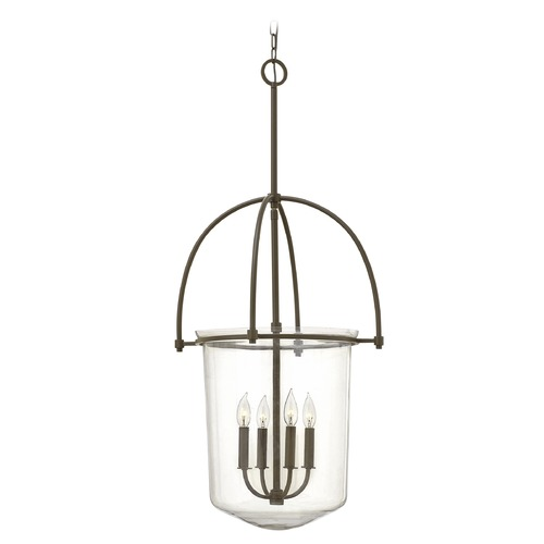 Hinkley Lighting Hinkley Lighting Clancy Buckeye Bronze Mini-Chandelier 3034KZ