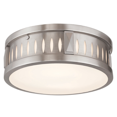 Livex Lighting Livex Lighting Vista Brushed Nickel Flushmount Light 65507-91