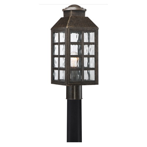 Quoizel Lighting Quoizel Lighting Miles Imperial Bronze Post Light MLS9007IBFL