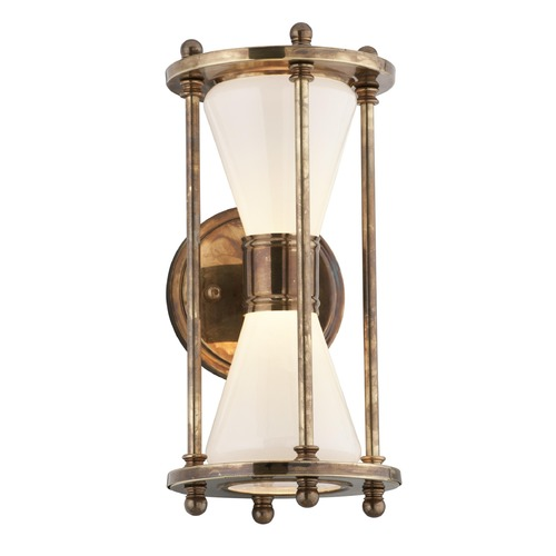 Troy Lighting Troy Lighting Magellan Historic Brass LED Outdoor Wall Light BL4631