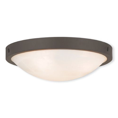 Livex Lighting Livex Lighting New Brighton Bronze Flushmount Light 73952-07