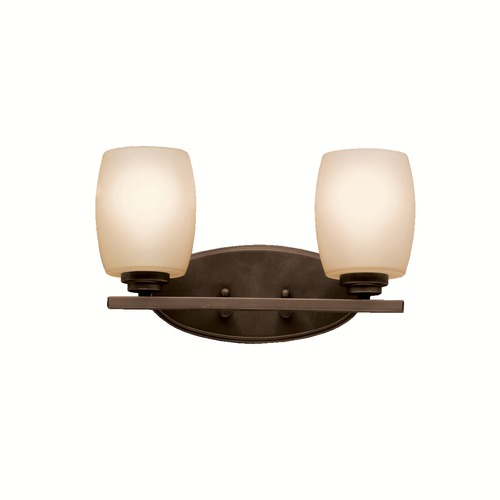 Kichler Lighting Kichler Lighting Joelson Olde Bronze LED Mini-Pendant Light with Cylindrical Shade 43927OZL16