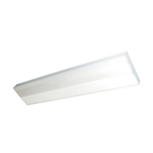Maxim Lighting Modern Flushmount Light with White Glass in White Finish 87807WT