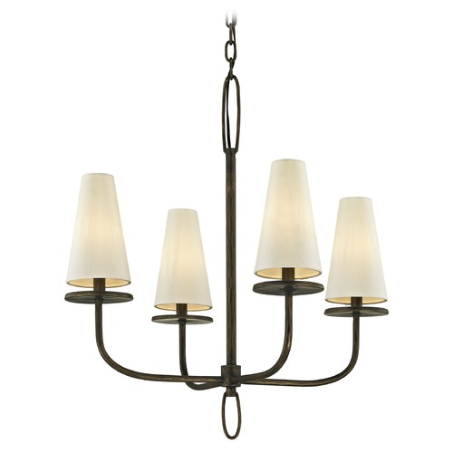 Troy Lighting Troy Lighting Marcel Pompeii Bronze Chandelier F6295